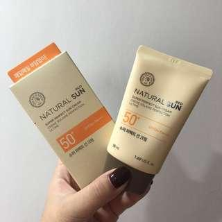 Faceshop Sunblock (New)