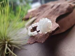 New Jadiete 3D Carved Ring