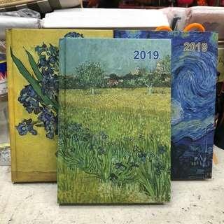 2019 Van Gogh Planner