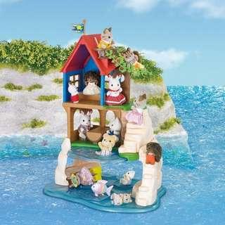 *Xmas sale* Sylvanian Families Secret Island Playhouse