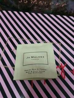 🚚 全新Jo malone英國梨與小蒼蘭潤膚乳7ml/公司貨/另有其他香水 潤膚霜 潔膚露可參考