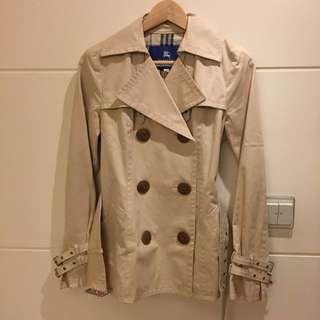 Burberry 藍標 中長版風衣外套 大衣