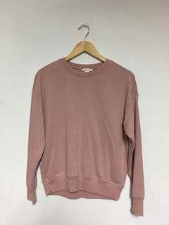 🚚 H&M 女款 粉色上衣 size xs