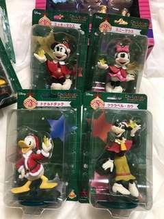 2018 迪士尼 一番賞 Mickey Mouse 米奇老鼠聖誕掛飾擺設