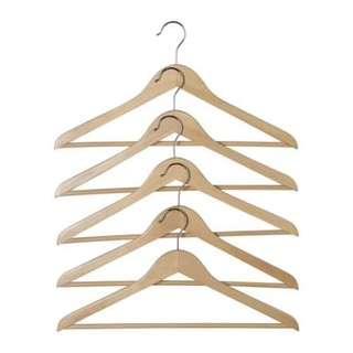 HOPA Clothes-hanger, eucalyptus