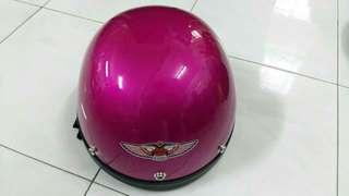 Mhr helmet half cut special color ori