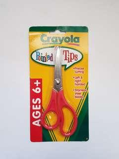 🆕️Red Crayola Pointed Tip Scissors