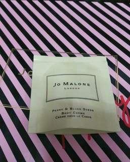 🚚 全新Jo malone牡丹與粉紅麂皮潤膚霜7ml/公司貨/另有其他香水 潔膚露 磨砂膏可參考