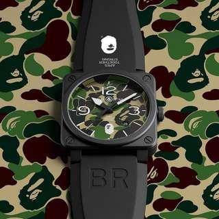 Bell & Ross BR03-92 BR x BAPE