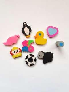 🆕️Cute Mini Assorted Collectible Erasers