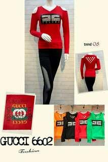 Kaos Stretch import All size fit to L brt 0,30
