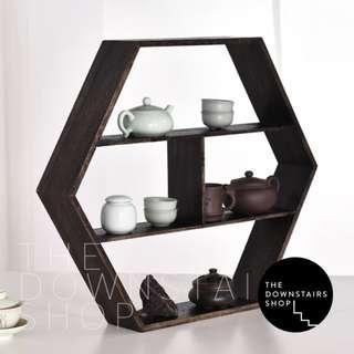 ⚡️[Promo] Kuzai Very Mod Geometric Wood Wall Rack