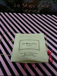 🚚 全新Jo malone 青檸羅勒與柑橘潤膚霜7ml/公司貨/另有其他香水 潔膚露 潤膚乳可參考
