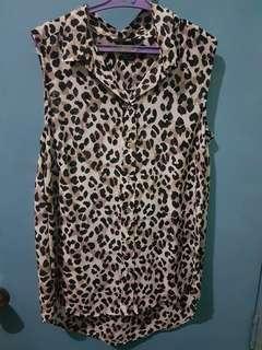 H&M Sheer sleeveless blouse