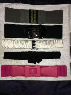 Stretchable belts