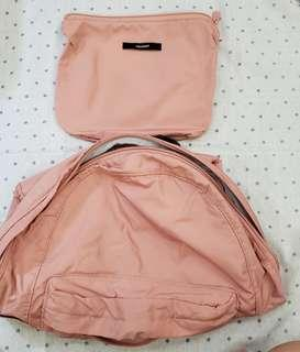 Travel Foldable Pink Backpack/Bag