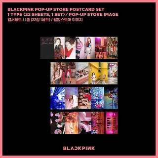 INSTOCK | BLACKPINK POP-UP STORE POSTCARD SET