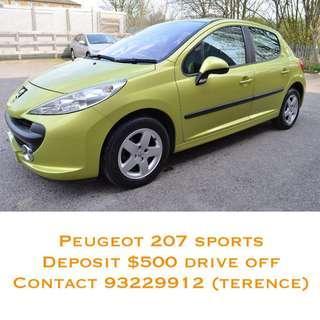 Peugeot 207 1.6 Auto Sport 5dr