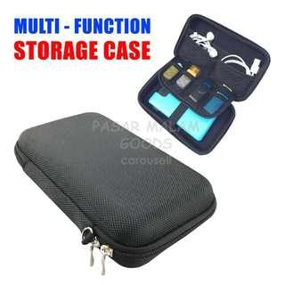 Instock Multi Function Powerbank Hard Drive Protective Carry Case Storage Electronics Gadgets Bag