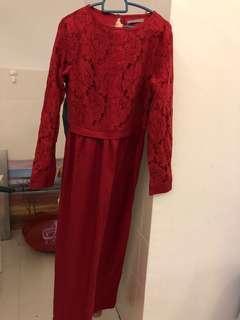 Preloved Poplook Red Dress