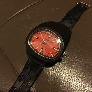 Omax driver's watch spaceage design