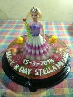 Jelly Art Barbie