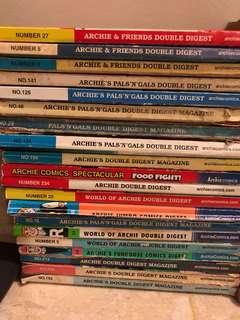 Assorted Archie's Comics - quick sale