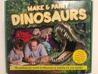 Make & Paint Dinosaurs