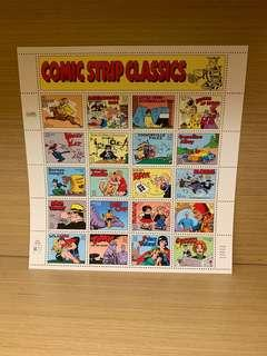 USA Stamps Comic Strip Classics 1995 edition