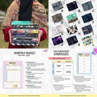 ISLAMIC PLANNER buku islam notebook diary organiser organizer