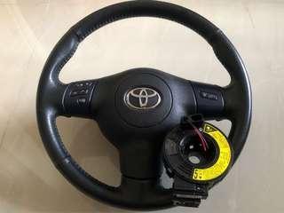steering button caldina