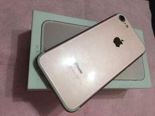 🚚 Iphone7.128G.玖瑰金.機況完美.95新