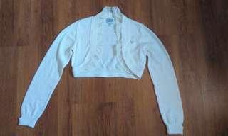 Armani Junior Sweater anak Girl's Baju Mantel Cardigan Sz 12 A/ 154cm