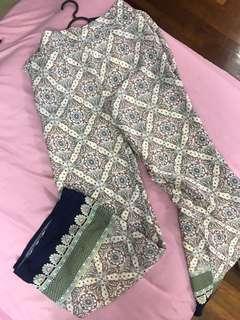 Bohemian long pants