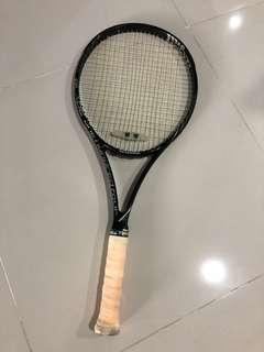 Wilson Tennis Racket Blade 104 with Wilson dampener & Toalson grip