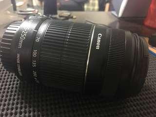🚚 Canon 55-250mm