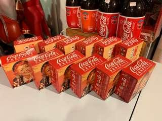 coca cola mini figure 12隻