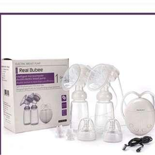 Double Electric Breast Pump with cooller bag
