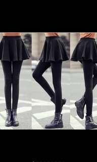 Autumn Winter Heattech Warming Skirt Legging