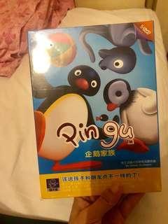 企鵝家族。Pingu DVD 一套