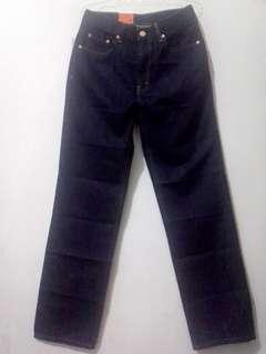 Celana Jeans LEA 606 Dark Blue Original