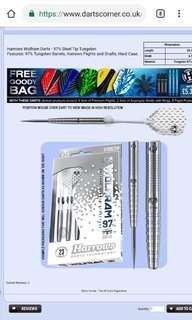 HarrowsWolframDarts - Steel Tip Tungsten