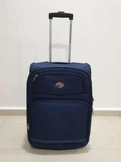 Good condition american tourister by samsonite cabin size expandable navy colour 20 inches
