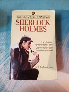 The Complete Works on Sherlock Holmes (5 in 1 Volume)
