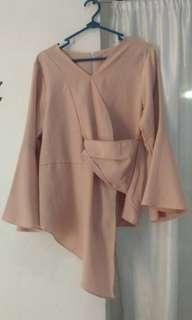 Top bell sleeve