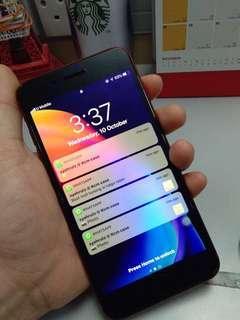 iphone 7plus 32gb fullset myset black matte