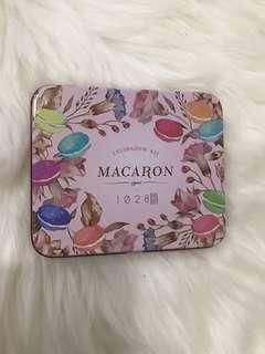 Macaron eyeshadow palette
