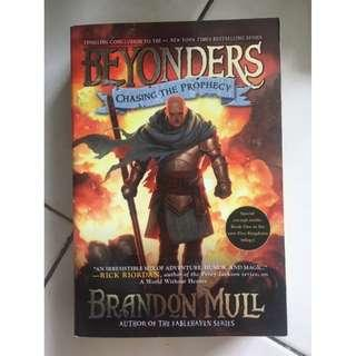 Mull, Brandon - BEYONDERS: CHASING THE PROPHECY