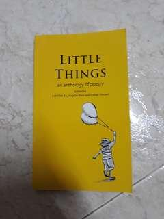 BN Little things , an anthology of poetry book