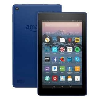 "Amazon Fire 7 Tablet with alexa, 7"" Inch Display, 8 GB 7th G"